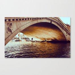 Rialto Bridge, Venice Italy Canvas Print