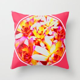 Sweet Succulents of the PNW Throw Pillow