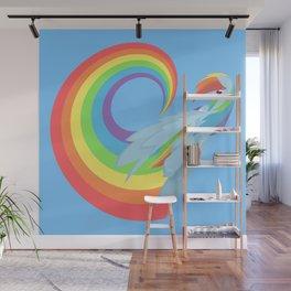 Rainboom Rainbow Dash Wall Mural