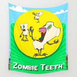 Zombie Teeth Wall Tapestry