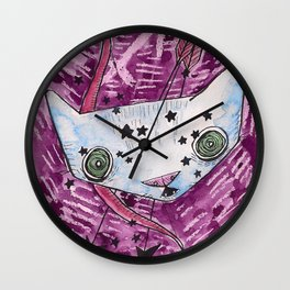 """Oro?"" Sagittarius Wall Clock"