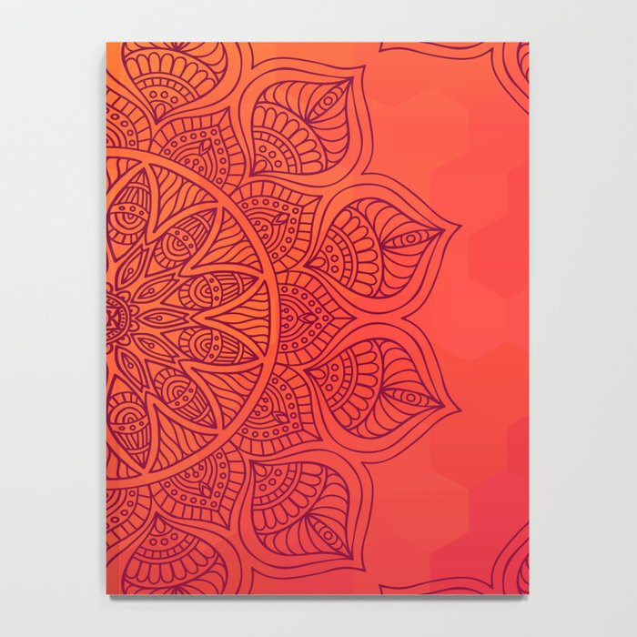 Sun Mandala Notebook
