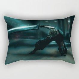 Cloud Strife, FFVII Remake Rectangular Pillow