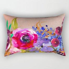 Flowers Bouquet 87 Rectangular Pillow