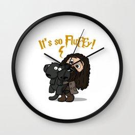 It's So Fluffy Wall Clock