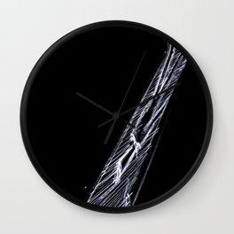 Dark Visitor Wall Clock