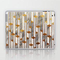 Marble skyscrapers Laptop & iPad Skin