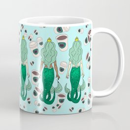 Star Butts Coffee Mermaids Coffee Mug