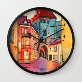 Pikk 2, Tallinn Wall Clock