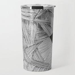 The Open Door Black/White Palette Travel Mug