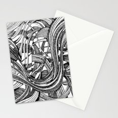 Into The Wild (b&w version) Stationery Cards