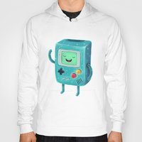 game Hoodies featuring Game Beemo by Lime