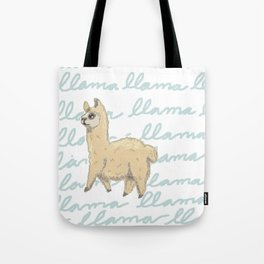 Llama Be My Best Tote Bag