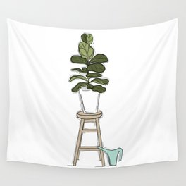 Fiddle Fig Tree Wall Tapestry