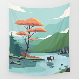 Fall is here Wall Tapestry