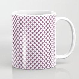 Amethyst Polka Dots Coffee Mug