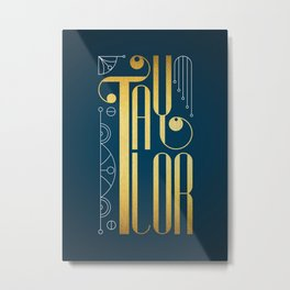 Taylor Metal Print