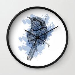 One Little Bird Wall Clock