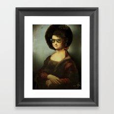 Mona Lisa Boogie Framed Art Print