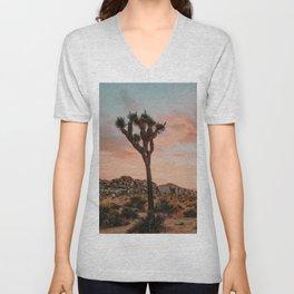 Joshua Tree IX / California Desert Unisex V-Neck