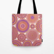 Kaleidoscopic-Fiesta colorway Tote Bag
