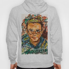 rapper,colourful,colorful,poster,wall art,fan art,music,hiphop,rap,logicc,lyric Hoody