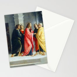 Vincenzo Civerchio Christ Instructing Peter and John to Prepare for the Passover Stationery Cards