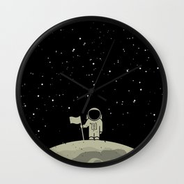 Moon Walk Wall Clock