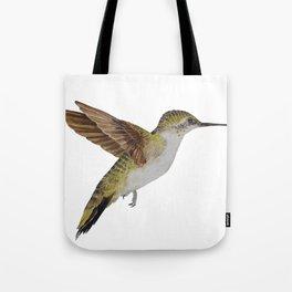 Hummingbird Watercolour Tote Bag