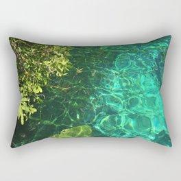 Crystal Cenote Rectangular Pillow