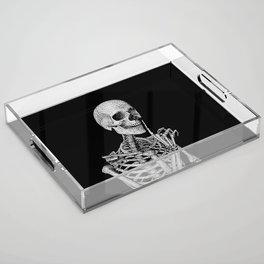 Silence please Acrylic Tray