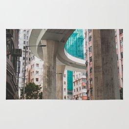 Hong Kong Street Bridge Rug