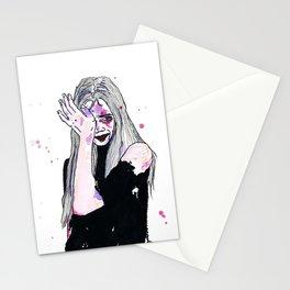 Drei Mädchen.  Stationery Cards