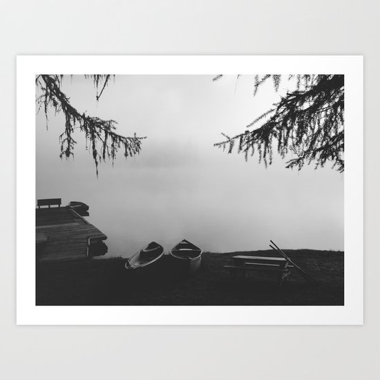 Gillette Lake Art Print