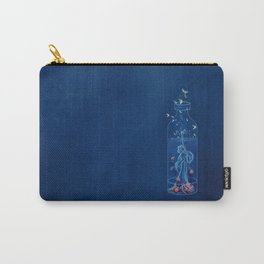 Moth and Raspberry Iced Tea Carry-All Pouch