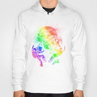 disco Hoodies featuring Space Disco by Jonah Makes Artstuff