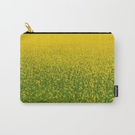 Mustard Field (of Yellow and Green) Carry-All Pouch