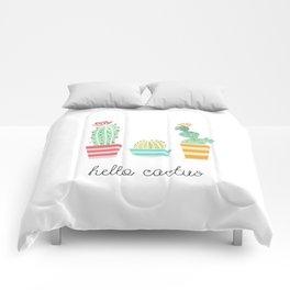 Hello Cactus Comforters