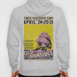 Vintage poster - Old Ironsides Hoody