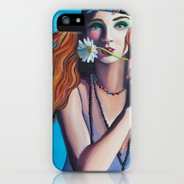 Colour Me Hippie iPhone Case