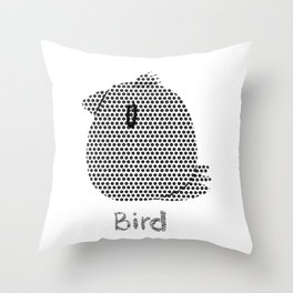 bird 572 Throw Pillow
