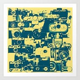 analogue legends Art Print