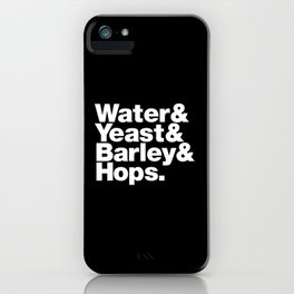 The Fab 4 - Beer iPhone Case