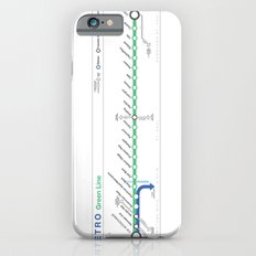 Twin Cities METRO Green Line Map Slim Case iPhone 6s