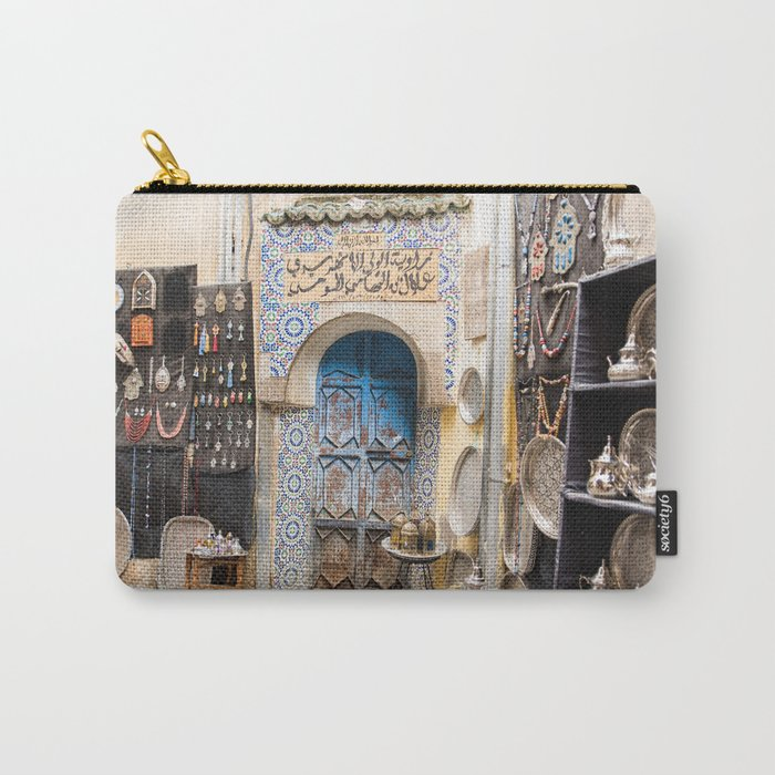 Doorway - Fes Ancient Medina Carry-All Pouch