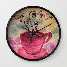 Cafe Au Lait is the best Wall Clock
