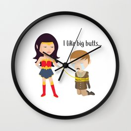 Finally The Truth Comes Out Wall Clock
