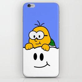 Minimalist Lakitu iPhone Skin