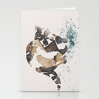 racoon Stationery Cards featuring Racoon Illustration by Caroline Campeau