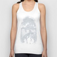 zombies Tank Tops featuring Zombies Inn by nicebleed